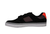 DC Bridge Black / Orange Skateboard Sneakers , Sneakers - DC, Concrete Wave - 3