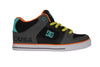 DC Youth Radar Blue Coral Skateboard Sneakers , Sneakers - DC, Concrete Wave - 1