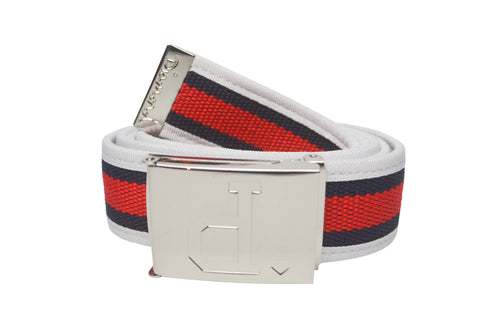 Diamond Supply Co Un Polo Clamp Belt Red/ White , Belts - Diamond Supply Co, Concrete Wave