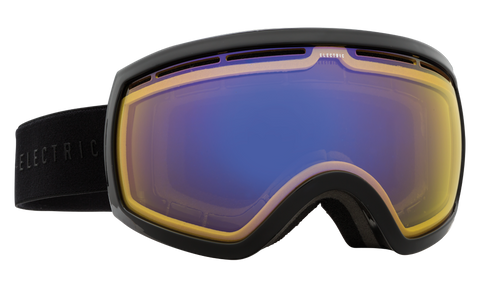 Electric EG2.5 Gloss Black/ Yellow Blue Chrome Snow Goggles 2016 One Size / Gloss Black, Goggles - Electric, Concrete Wave - 1