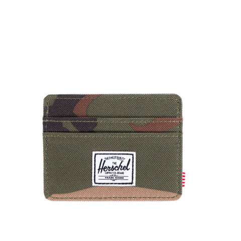 Herschell Supply Co Charlie Wallet Woodland Camo Default Title / Woodland Camo, Bags - Herschell Supply Co, Concrete Wave - 1
