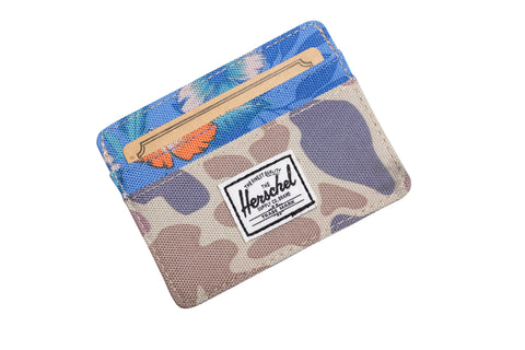 Herschell Supply Co Charlie Wallet Duck Camo/ Paradise Default Title / Duck Camo/ Paradise, Bags - Herschell Supply Co, Concrete Wave - 1