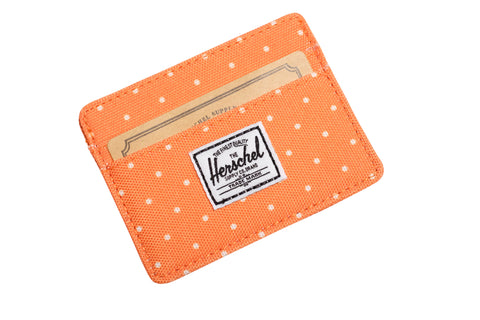 Herschell Supply Co Charlie Wallet Orange Polka Dot Default Title / Orange Polka Dot, Bags - Herschell Supply Co, Concrete Wave - 1