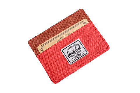 Herschell Supply Co Charlie Wallet Red/ Rust Default Title / Red/ Rust, Bags - Herschell Supply Co, Concrete Wave - 1