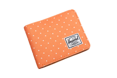 Herschell Supply Co Hank Wallet Orange Polka Dot Default Title / Orange Polka Dot, Bags - Herschell Supply Co, Concrete Wave - 1