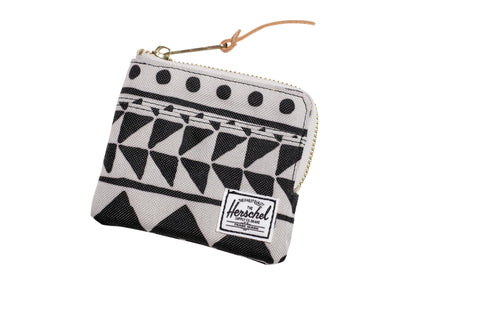 Herschell Supply Co Johnny Wallet Chevron Black Default Title / Chevron Black, Bags - Herschell Supply Co, Concrete Wave - 1