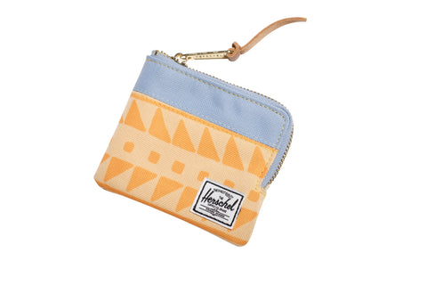 Herschell Supply Co Johnny Wallet Chevron Butterscotch/ Steel Blue Default Title / Chevron Butterscotch/ Steel Blue, Bags - Herschell Supply Co, Concrete Wave - 1