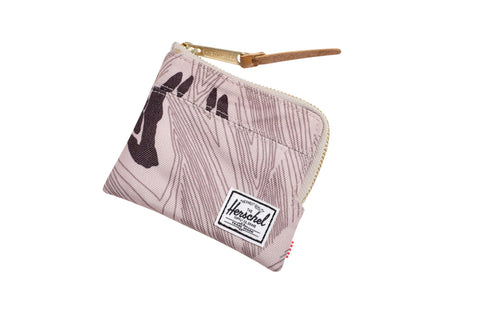 Herschell Supply Co Johnny Wallet Geo Camo Default Title / Geo, Bags - Herschell Supply Co, Concrete Wave - 1