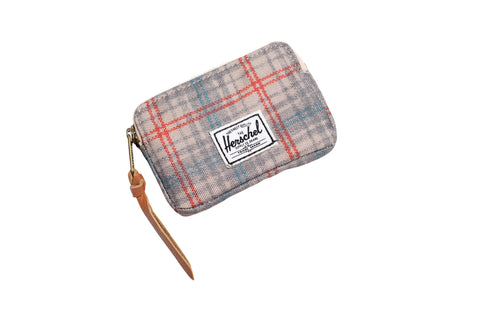 Herschell Supply Co Oxford Pouch Grey Plaid Default Title / Grey Plaid, Bags - Herschell Supply Co, Concrete Wave - 1