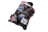 Herschell Supply Co Packable Duffle Black Floral/ Pink Floral , Bags - Herschell Supply Co, Concrete Wave - 2