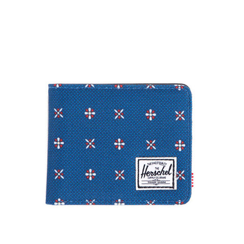 Herschell Supply Co Roy Plus Wallet Hyde/ Tiger Camo Default Title / Hyde Blue/ Tiger Camo, Bags - Herschell Supply Co, Concrete Wave - 1