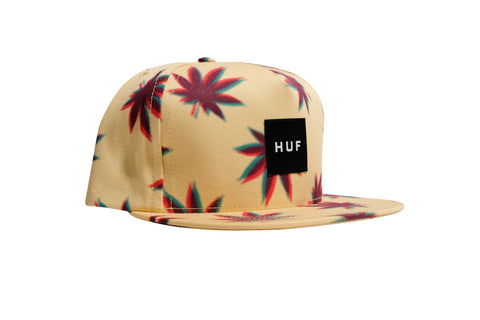 Huf 3D Plantlife Snapback Maize one size / Maize, Hat - Huf, Concrete Wave - 1
