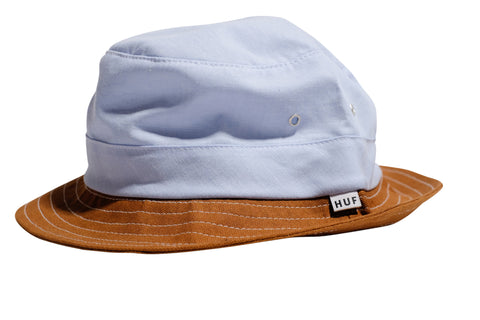 Huf Chambray Field Bucket Hat Blue L/XL / Blue, Hat - Huf, Concrete Wave