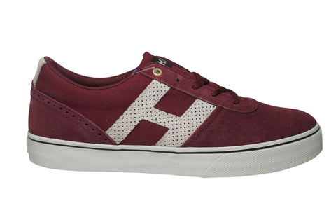 Huf Choice Tawny Port/ Bone White Sneakers , Sneakers - Huf, Concrete Wave - 1