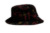 Huf Drink Up Bucket Hat Black S/M / Black, Hat - Huf, Concrete Wave