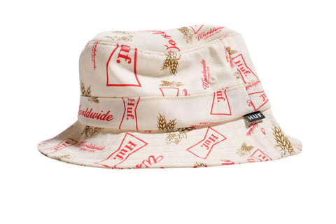 Huf Drink Up Bucket Hat Cream S/M / Cream, Hat - Huf, Concrete Wave