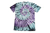 Huf Triple Triangle Spiral T Shirt Purple , T Shirt - Huf, Concrete Wave - 2
