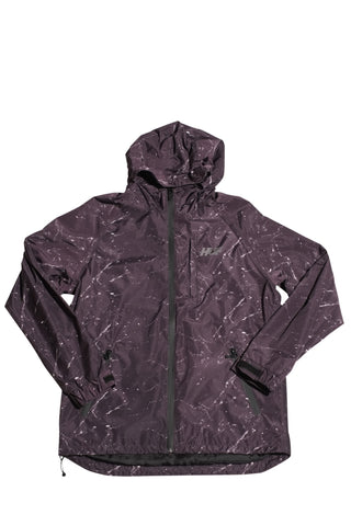 Huf 10k Tech Jacket Black Marble , Jacket - Huf, Concrete Wave