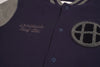Huf Circle H Varsity Jacket , Sweatshirts - Huf, Concrete Wave - 2