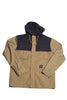 Huf The Summit Jacket Tan/ Navy , Jacket - Huf, Concrete Wave - 1