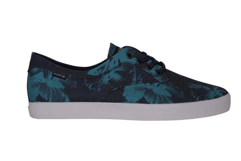 Huf Sutter Navy Blue Floral , Sneakers - Huf, Concrete Wave - 1