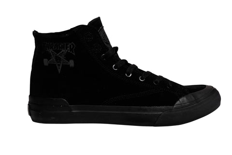 Huf x Thrasher Classic Hi 9 / Black, Sneakers - Huf, Concrete Wave - 1