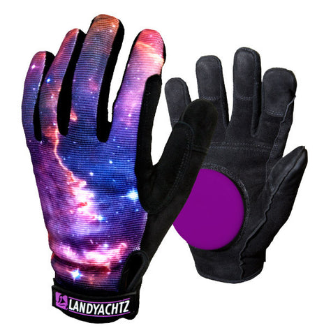 Landyachtz Space Slide Gloves XL / Black, Longboard Accessories - Land Yachtz, Concrete Wave