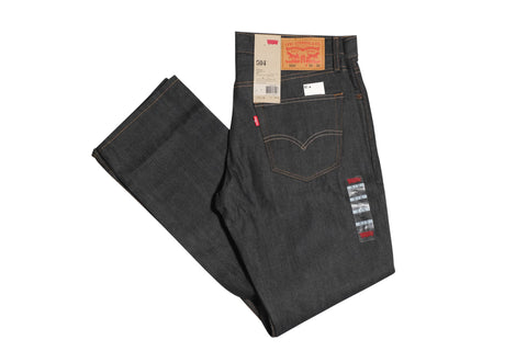 Levi's 504 Regular Straight Jeans Rigid Envy , Bottoms - Levi's, Concrete Wave