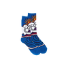 Lib Tech JL MTN Wave Snowboard Socks Blue 2016 L / Blue, Snowboard Tuning/ Accesories - Lib Tech, Concrete Wave