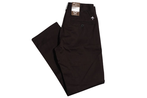 LRG True Tapered Fit Black Chino , Bottoms - LRG, Concrete Wave