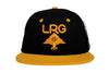 LRG LR-Group Snap Back Black / Gold Default Title / Black/ Gold, Hat - LRG, Concrete Wave
