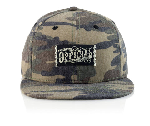 Official Keep it Camo Strapback Hat Adjustable / Camo, Hat - Official, Concrete Wave - 1
