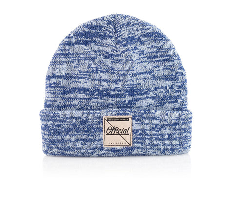 Official Whitewash Beanie One Size / Blue, Beanie - Official, Concrete Wave