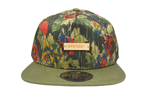 Official Bamboo Rain Strapback , Hat - Official, Concrete Wave - 1