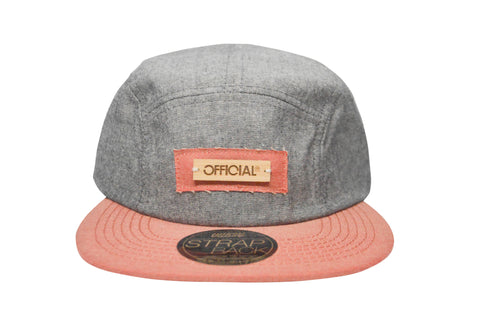 Official Camp Bamboo Camper , Hat - Official, Concrete Wave - 1