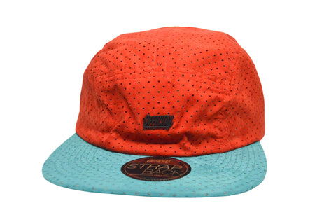Official Camp Suede Camper Red/ Blue , Hat - Official, Concrete Wave - 1