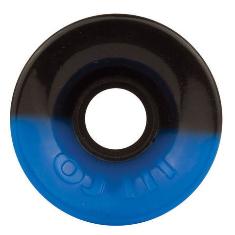 OJ Wheels 60mm 78a Hot Juice 5050 Blue/ Black Skateboard Wheels , Wheels - OJ Wheels, Concrete Wave