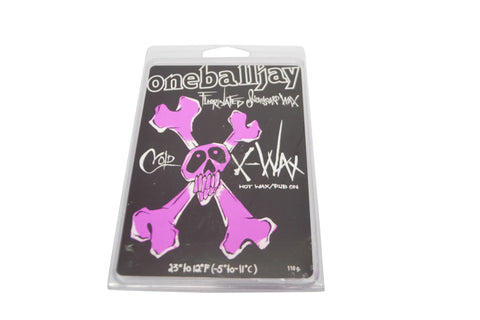 One Ball Jay X Wax Cold Snowboard Wax , Snowboard Tuning/ Accesories - One Ball Jay, Concrete Wave