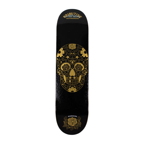 "Primitive Paul Rodriguez Victory (Black) Skateboard Deck 8"" / None, Decks - Primitive, Concrete Wave"