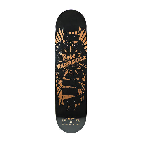 "Primitive Paul Rodriguez Times Up Deck (Rose Gold) 8"" , Decks - Primitive, Concrete Wave"