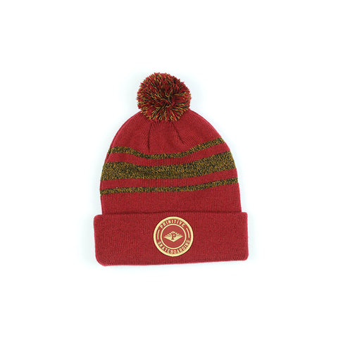 Primitive Core Seal Pom Beanie Red Red, Beanie - Primitive, Concrete Wave