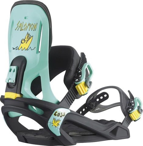 Salomon Boss Snowboard Bandings 2015 , Snowboard Bindings - Salomon, Concrete Wave