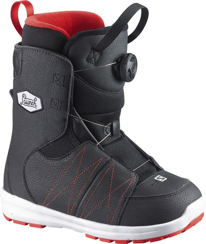 Salomon Launch Boa Jr Snowboard Boots , Snowboard Boots - Salomon, Concrete Wave