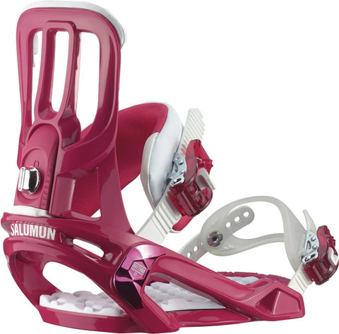 Salomon Rhythm Pink Snowboard Bindings 2015 , Snowboard Bindings - Salomon, Concrete Wave