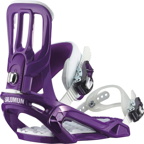 Salomon Rhythm Purple Snowboard Bindings 2015 , Snowboard Bindings - Salomon, Concrete Wave