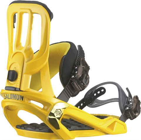 Salomon Rhythm Yellow Snowboard Bindings 2015 , Snowboard Bindings - Salomon, Concrete Wave
