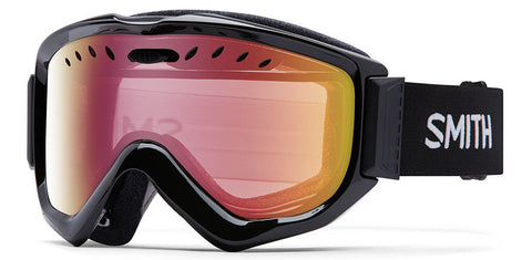 Smith Knowledge OTG Black/ Red Snow Goggles 2016 One Size / Black, Goggles - Smith, Concrete Wave - 1
