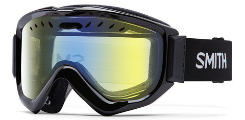 Smith Knowledge OTG Black/ Yellow Snow Goggles 2016 One Size / Black, Goggles - Smith, Concrete Wave - 1