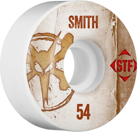 Bones Wheels STF Pro SMith Team Vintage Wheel 54mm 4pk , Wheels - Bones, Concrete Wave