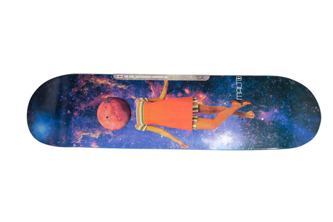 Girl Malto Space Girl Skateboard Deck 8 1/8 , Decks - Girl, Concrete Wave